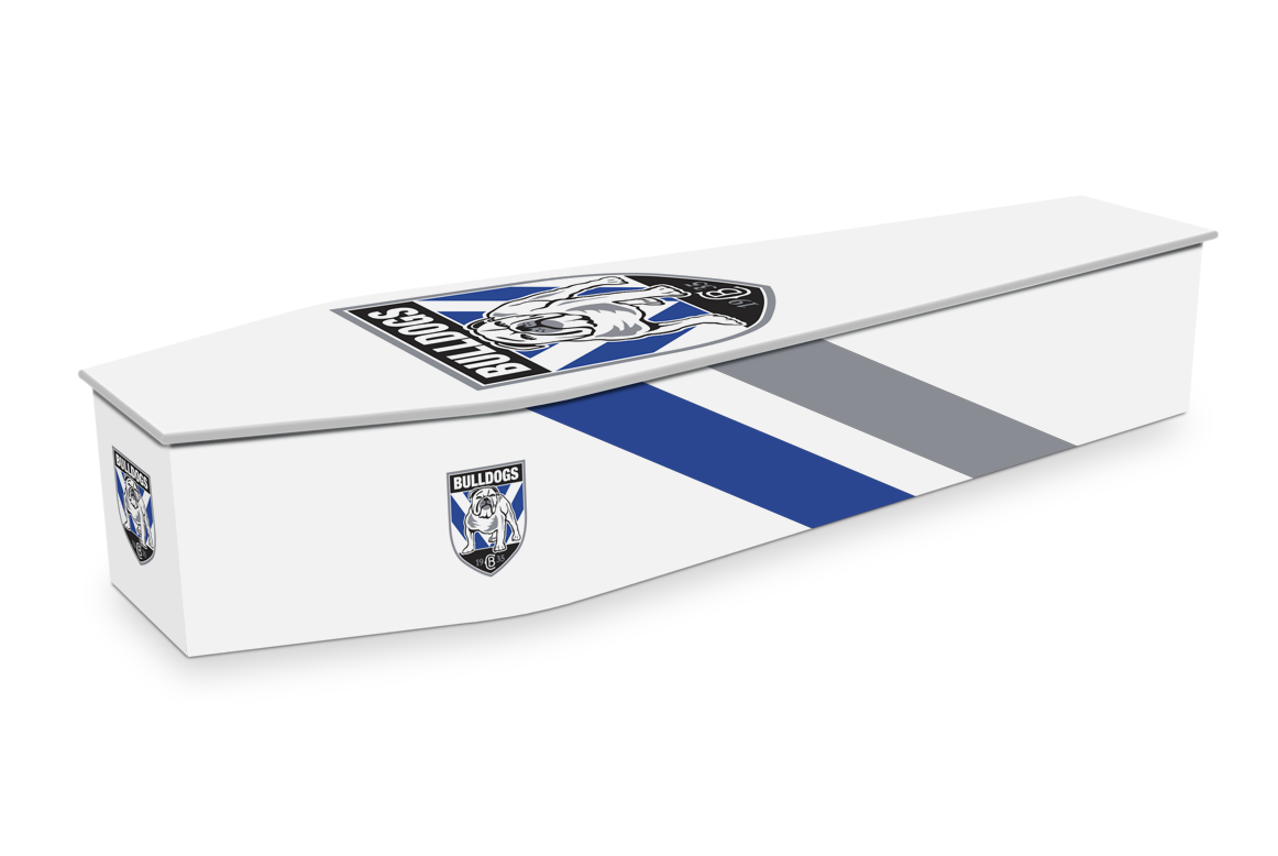 Canterbury Bankstown Bulldogs Custom Coffin Design