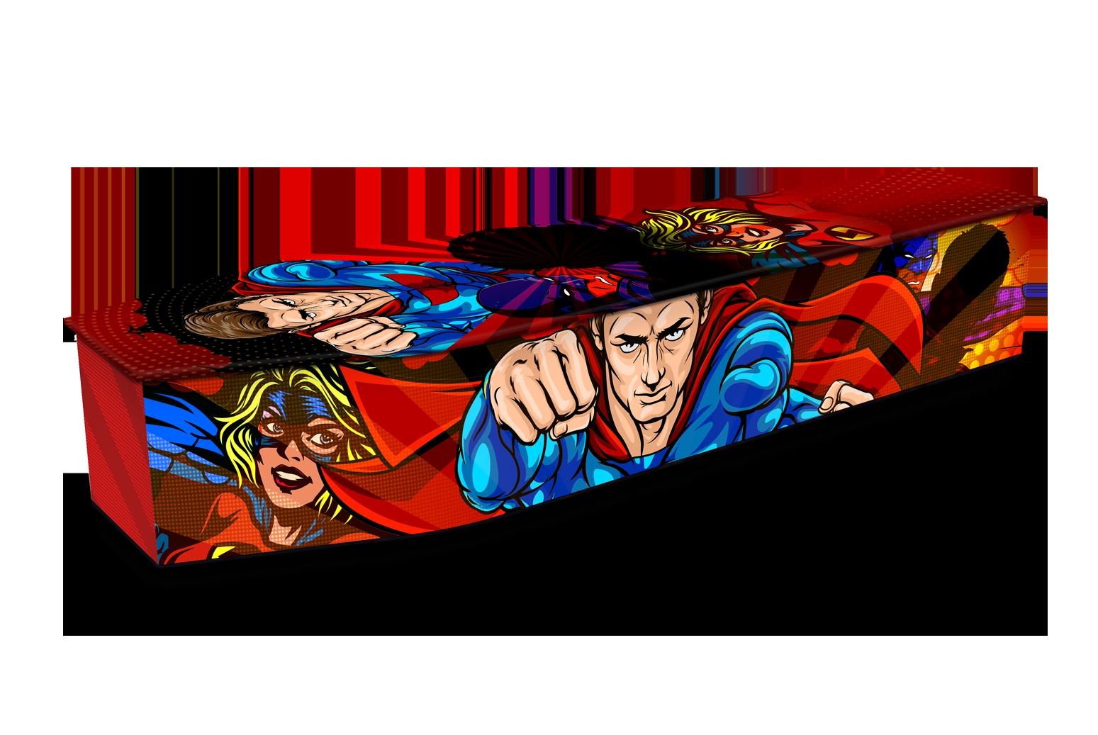 Comic Red Hero